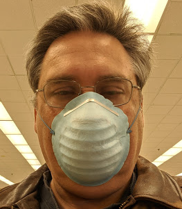 wnylibrarian in surgical mask